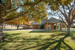 A custom built 3,873± sq. ft. 3 bedroom 2.5 bath brick home on 2± acres.  The home's highlights include a 273± sq. ft. basement, a 3 car garage and a 834± barn/office