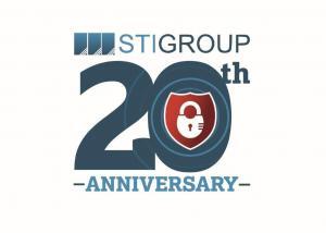 STIGroup's 20th Anniversary Logo