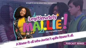 Mallie is the know it all who doesn't quite know it all.