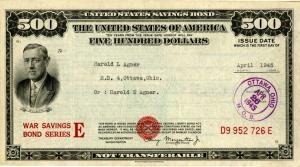 Collect U. S. Savings Bonds