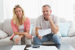 Happy Old Couple who found solutions to tax problems