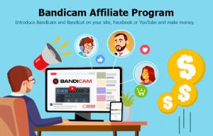 Bandicam Announces Affiliate Program Through ShareASale