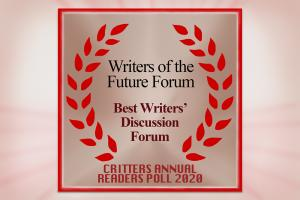 The L. Ron Hubbard Writers of the Future Discussion Forum Wins The Critters Readers' Award