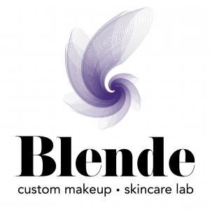 Blende Custom makeup and skincare logo