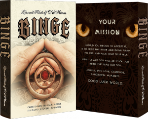 Lives and Minds of C.W. Männe BINGE                                     Front and Back Book Cover