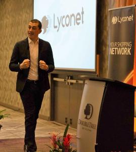 Regional Director Gian Marco Bronzato at Lyconet event