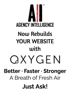 Agency Intelligence now rebuilds your website with Oxygen Builder: Better, faster, stronger, a breath of fresh air. Just ask!