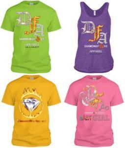 Fashion t-shirts High fashion t-shirts Diamondfire Apparel