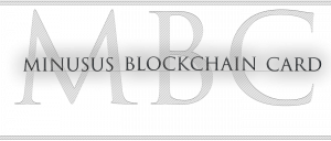 MINUSUS Blockchain Card