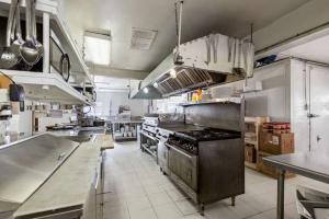 restaurant with a fully equipped commercial kitchen and brand new two story unfinished cabin