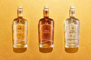 A picture of the Free Spirts range of non alcoholic drinks