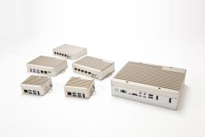 The lineup of AAEON BOXER-8200AI systems powered by NVIDIA Jetson series System-on-Chip (SoC)