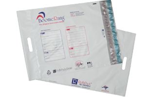 RollsPack introduces the Boomerang Bag  a new returnable mailer bag - White Poly bag with a twice use seal.