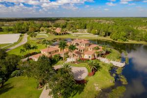 Tucked into the exquisite gated community of Ranch Colony, no feature or comfort was spared in the careful construction of this sprawling Mediterranean-style paradise.