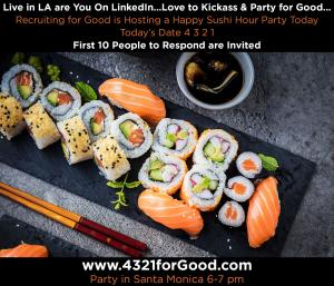 Today is 4 3 2 1 the Perfect Day to Attend The Ultimate Now or Never Foodie Party #kickassforgood #partyforgood #4321forgood www.4321forGood.com