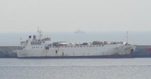 Karim Allah docked at the port of Escombreras on March 5, 2021