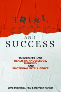 Trial, Error, and Success front cover suggesting trial and error may involve mistakes along the way, but the outcome is success