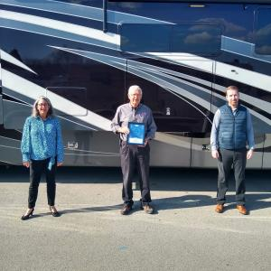 Secret Weapon Media Agency wins 2020 Silver Davey for Bankston Motorhomes TV Commercial