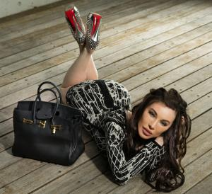 Laura Lydall Stamps her Louboutins