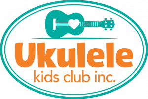 logo for the Ukulele Kids Club, the nonprofit supporting medically fragile children