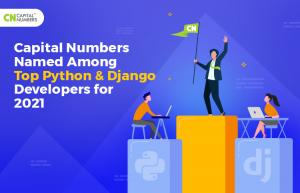 Capital Numbers reconnu comme le meilleur développeur Python et Django de l'Inde pour 2021