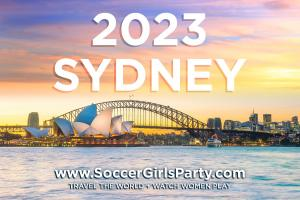 Want to travel to 2023 Women's Soccer? Recruiting for Good is rewarding savings #soccergirlsparty www.SoccerGirlsParty.com
