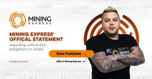 Mining Express' official statement regarding unfounded allegations in media