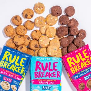 Founded by former health journalist and certified health coach Nancy Kalish as she searched for better-tasting, better-for-you sweet treats, Rule Breaker Snacks has upended snack time over the past few years with snacks that are perfectly and deliciously guilt-free.