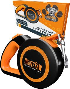 Mighty Paw Retractable Leash 2.0 Packaging