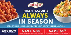 Birds Eye BARCODE BUCKS Offers