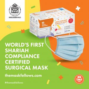 Made in Singapore Surgical Mask - The Mask Fellows