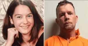 David Anthony Burns (R) is facing a second-degree murder charge in the 2004 death of Courtney Coco (L) (Alexandria Police Department, Rapides Parish Sheriff's Office)
