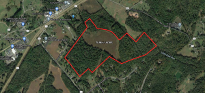 78.98 +/- acres of land in Madison County, VA -- Approx. 23 acres of open land & the remainder wooded -- Accessible from Rt. 29 & Fox Hunter's Lane