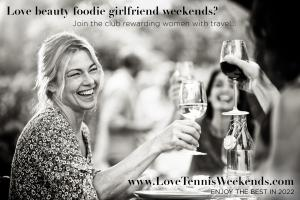 Participate in Recruiting for Good to Enjoy a Beauty Foodie Championship Tennis Weekend at Indian Wells #lovetennisweekend #recruitingforgood www.LoveTennisWeekends.com