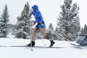 Warfighter Cameron Kerr Cross Country Skiing