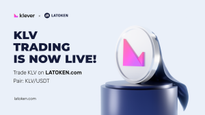 KLV Trading is now live on LATOKEN