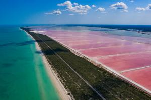 Las Coloradas, one of the many locations to be experienced in the state of Yucatan.