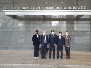 The Meeting @ Korean Chamber of Commerce team