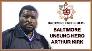 Arthur M. Kirk is an unsung hero in Baltimore