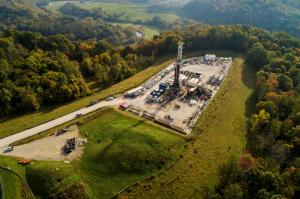 Ohio County, WV Drilling Rig