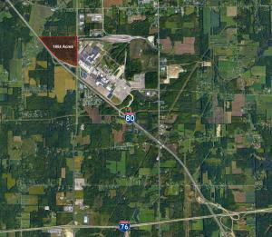 165 acre site across from Lordstown Motors