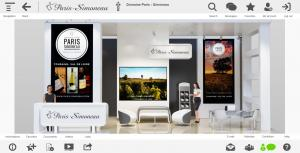 DigitalWine Booth Paris Simoneau