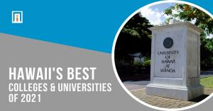 Image of the top higher education institution in Hawaii