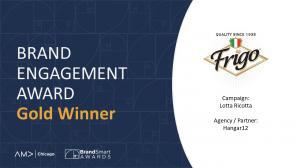 Brand Engagement Award Gold Winner Hangar12