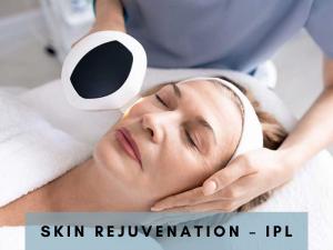Skin Rejuvenation - Intense Pulsed Light therapy.