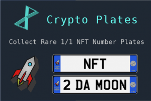 Collect NFT Crypto Plates