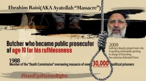 May 25, 2021 - Ebrahim Raisi, the henchman in the 1988 massacre and one of the worst criminals against humanity, becomes the regime's next president.