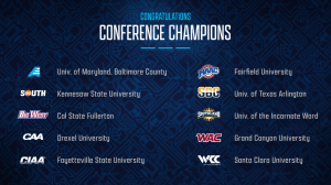 """alt=""""List of 10 NCAA Conferences with schools competing in Collegiate Esports Invitational feat. Fortnite today at 6pm ET"""""""