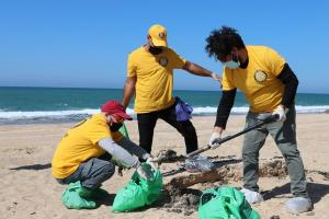 Israel, where Scientologists responded to a devastating oil spill—a natural disaster caused by environmental irresponsibility