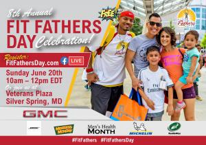 Free Fit Fathers Day (online and onsite) on June 20th from 10am to 12pm